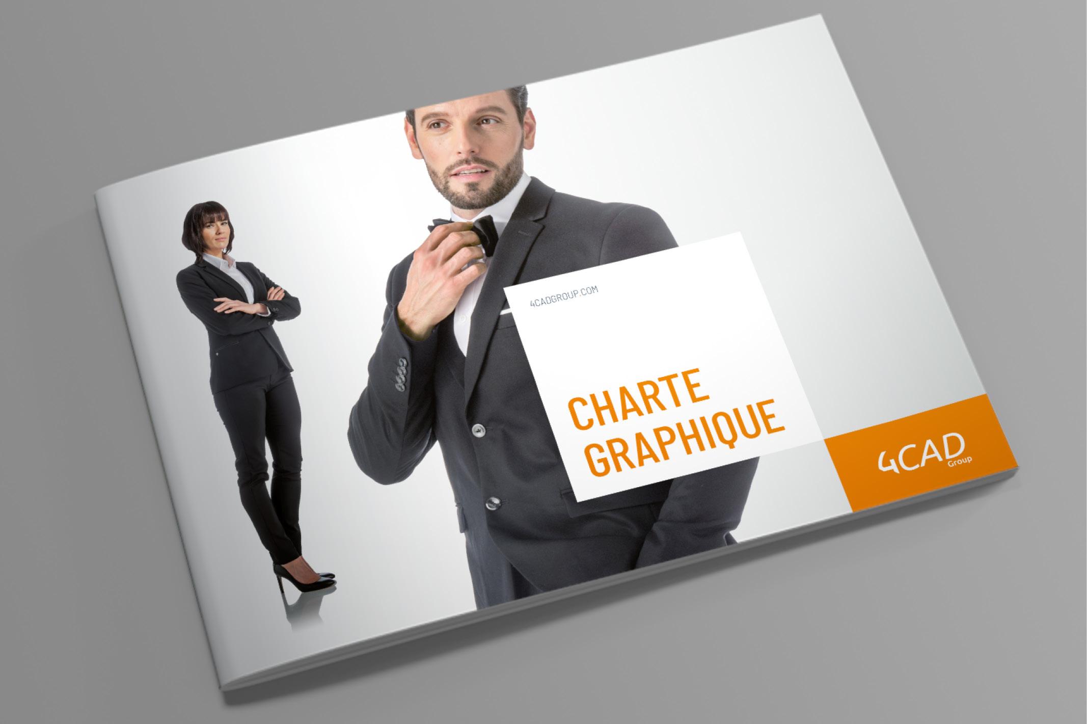 Création d'une charte graphique pour le stand évolutif de la société 4CAD.