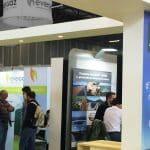 Un stand menuisé sobre et adapté a la clientèle du SIMA.