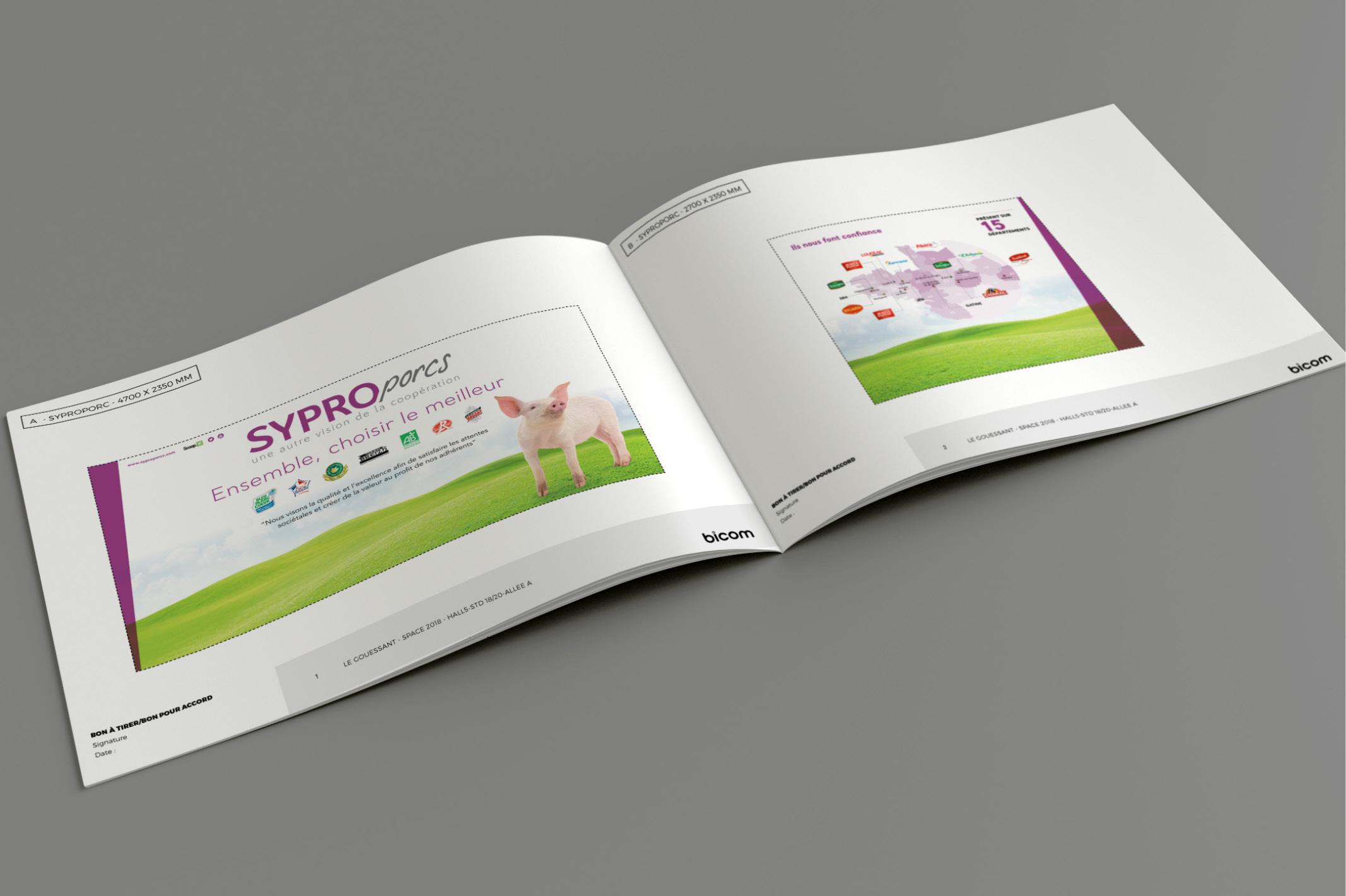 Un stand sur mesure pour SYPROPORCS marque de la société Le Gouessant.