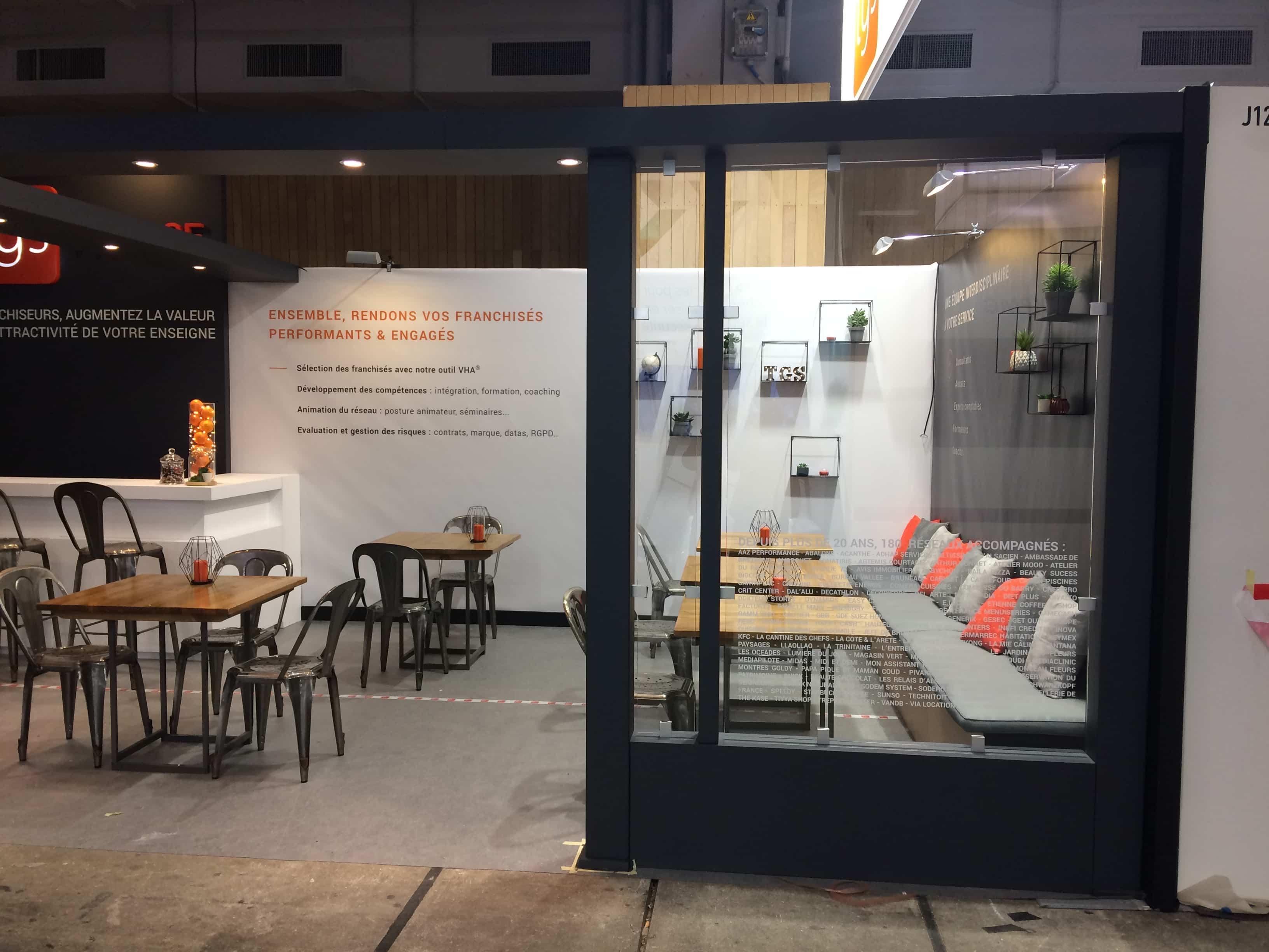 Depuis plusieurs années l'entreprise TGS FRANCE fait confiance a Bicub pour la conception de stand.