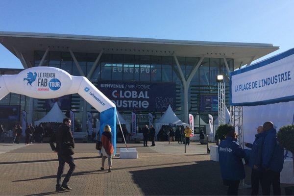 Le salon Global Industrie a lieu à Eurexpo à Lyon pour cette édition 2019.