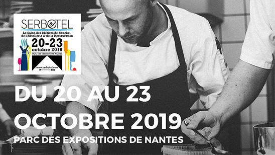 Le SERBOTEL aura lieu du 20 au 23 octobre 2019 au parc des expositions de Nantes.