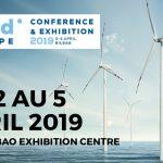 Le salon WINDEUROPE se déroule du 2 au 5 avril 2019 à Bilbao