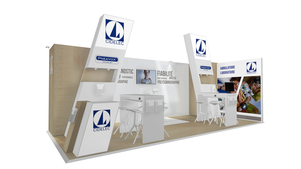 stand modulable pour cidelec