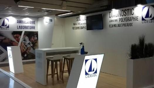 stand modulable pour un congrès